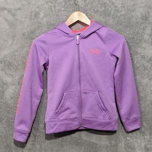 🌻5/15$ Under Armour purple pink jacket
